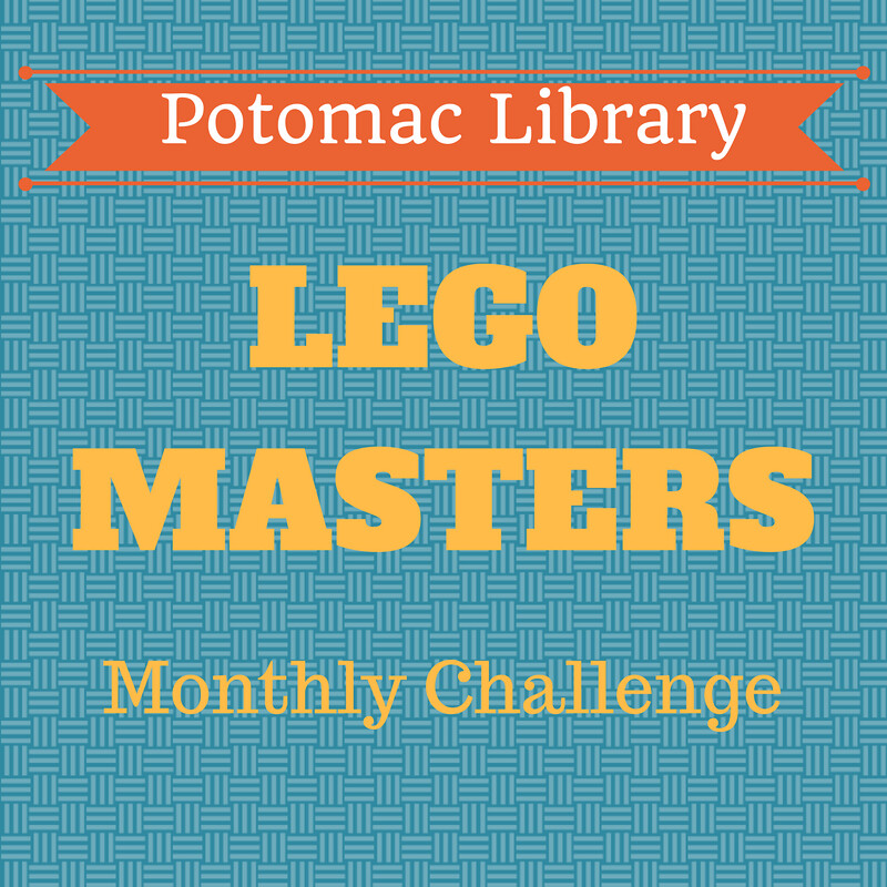 potomac library monthly lego challenge