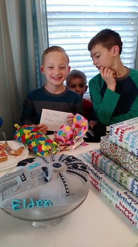 March 11 2017 Elden's 8th Birthday