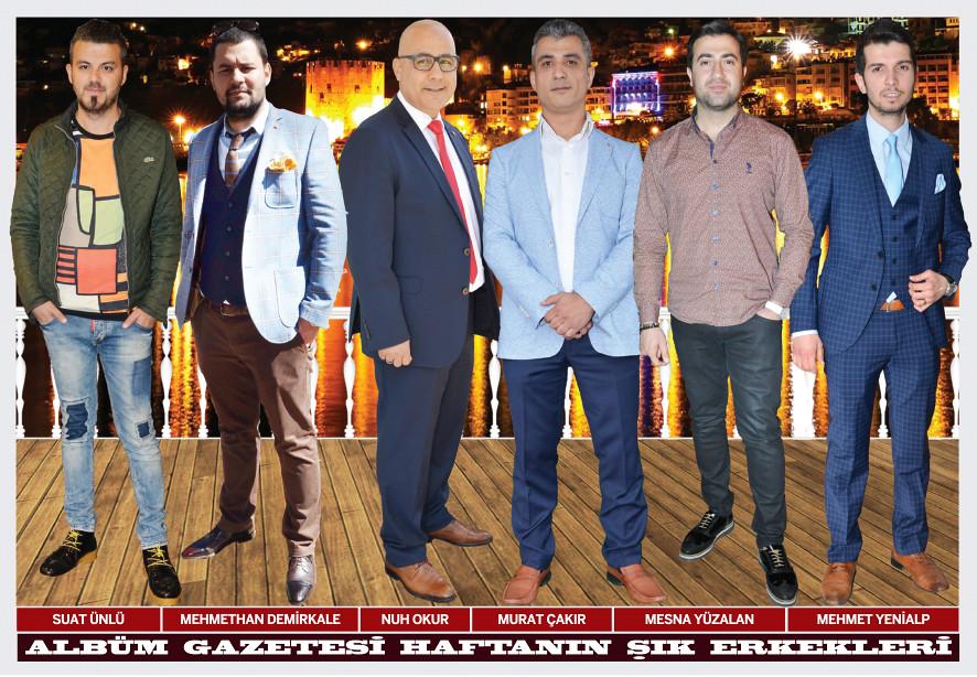 Suat Ünlü, Mehmethan Demirkale, Nuh Okur, Murat Çakır, Mesna Yüzalan, Mehmet Yenialp