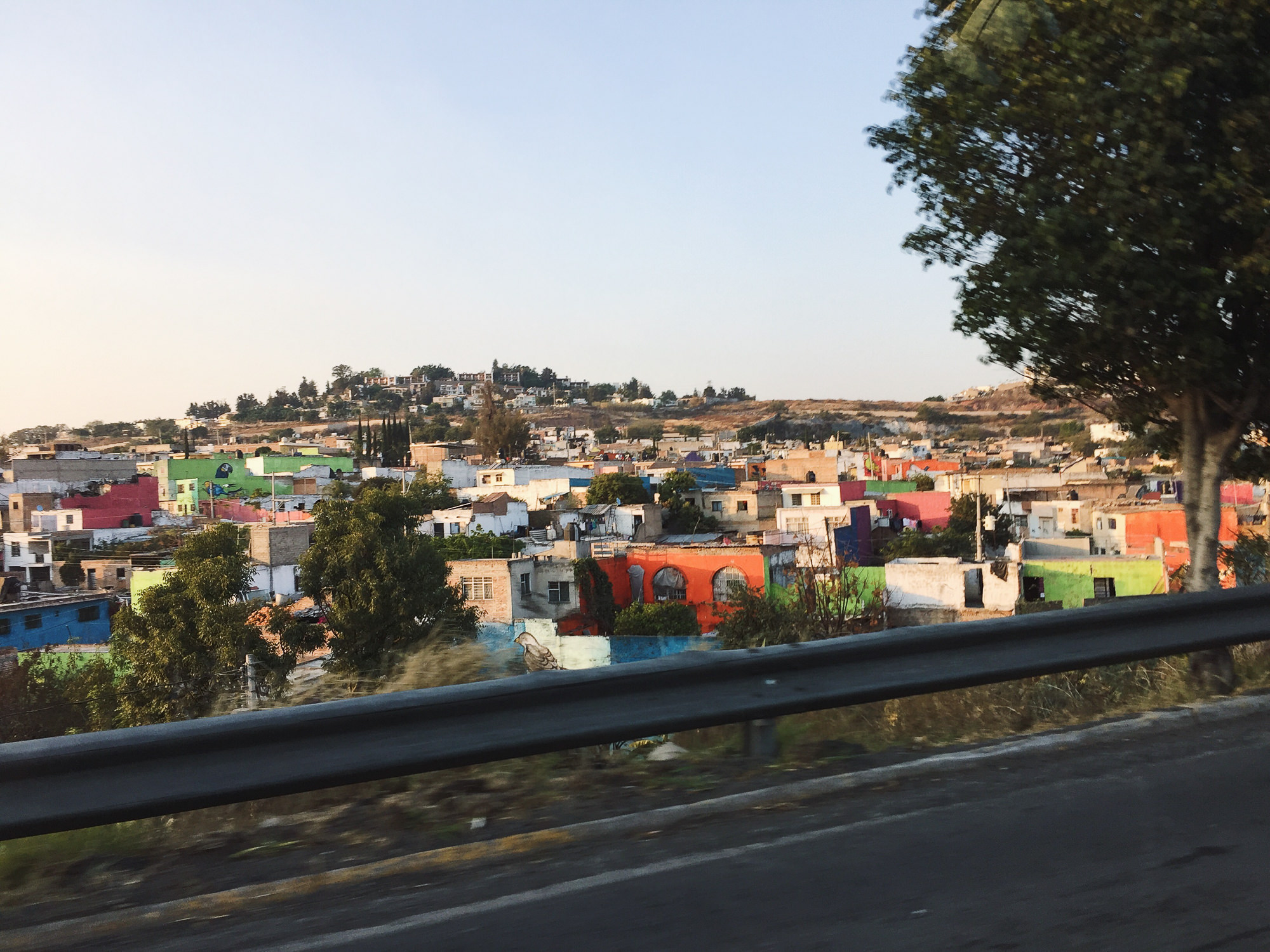 En route to the Miguel Hidalgo y Costilla Guadalajara International Airport