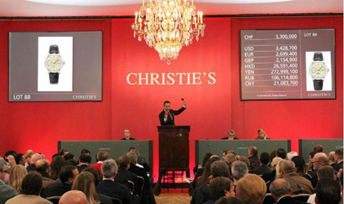 Christie's watch auction