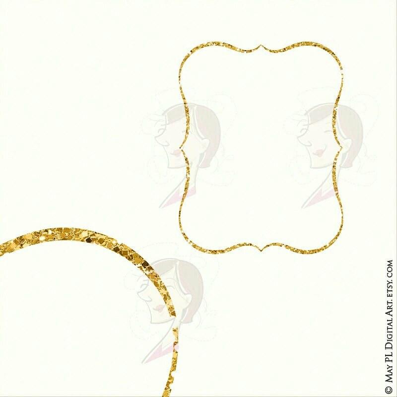 Popular Frame Shape Now With Glitzy Gold Glitter Httpet Flickr