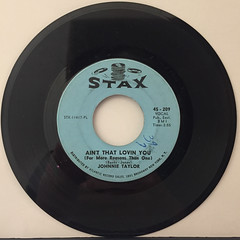 JOHNNIE TAYLOR:AIN'T THAT LOVIN YOU(FOR MORE REASON THAN ONE)(RECORD SIDE-A)
