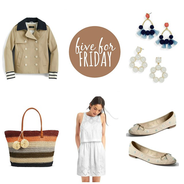 five for friday little white dress | Style On Target blog