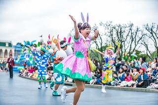 2017 東京ディズニーランド イースター うさたま大脱走
