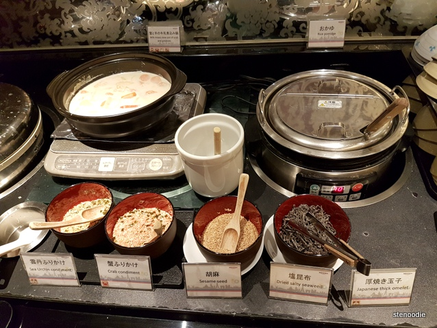 rice porridge station