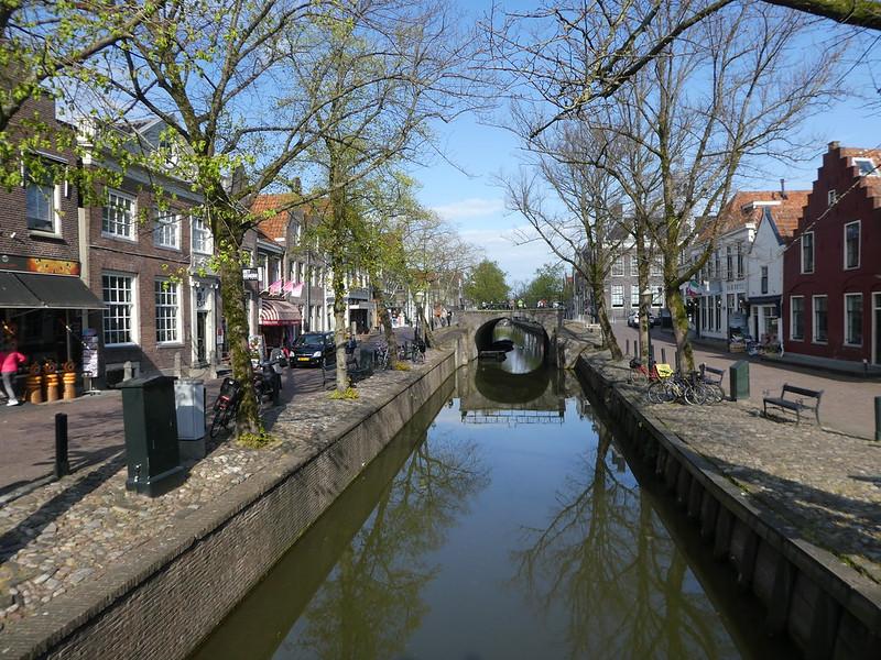 Edam main street, The Netherlands