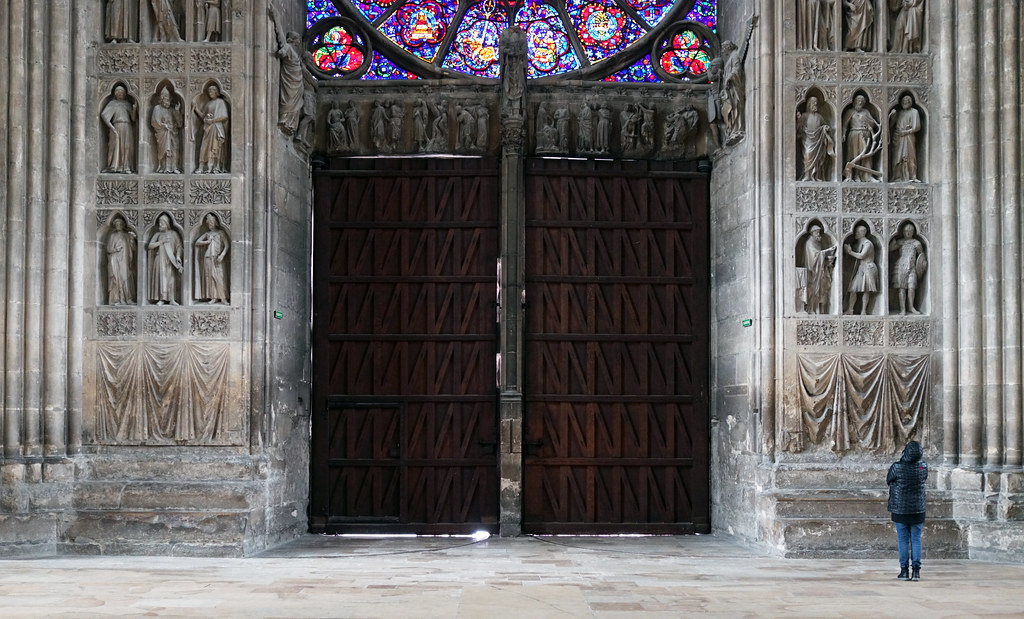 ... Reims Cathedral doors | by profzucker & Reims Cathedral doors | Cathédrale Notre-Dame de Reims 13tu2026 | Flickr