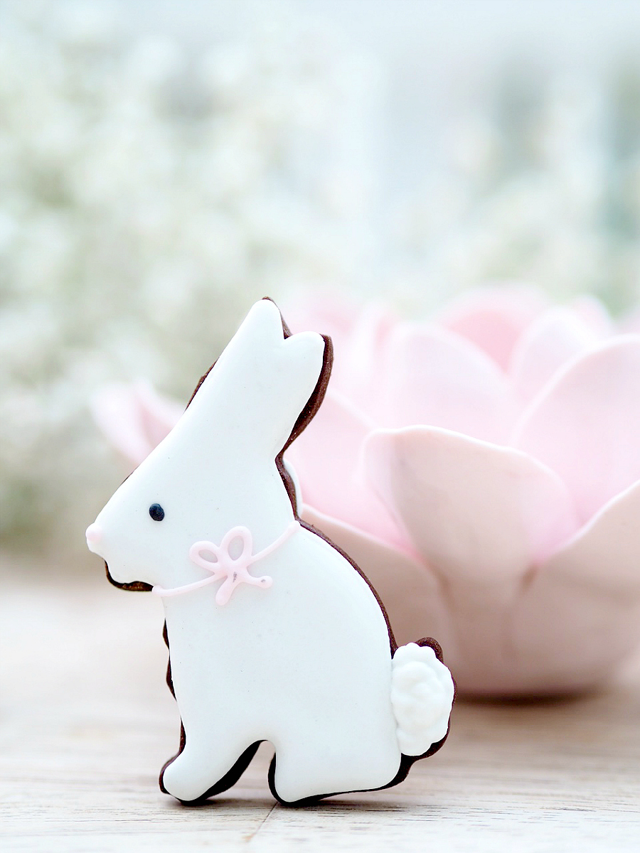 easter rabbit biscuiteers
