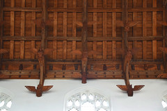 nave roof angels