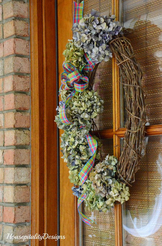 Spring Hydrangea Wreath-Housepitality Designs