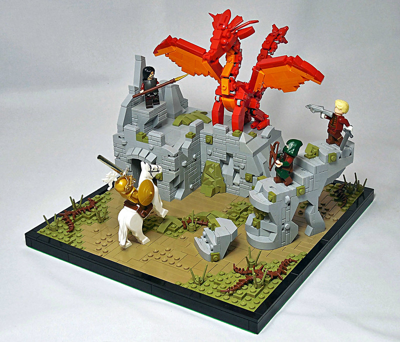 LEGO® MOC by Vitreolum: Dragon Slayers