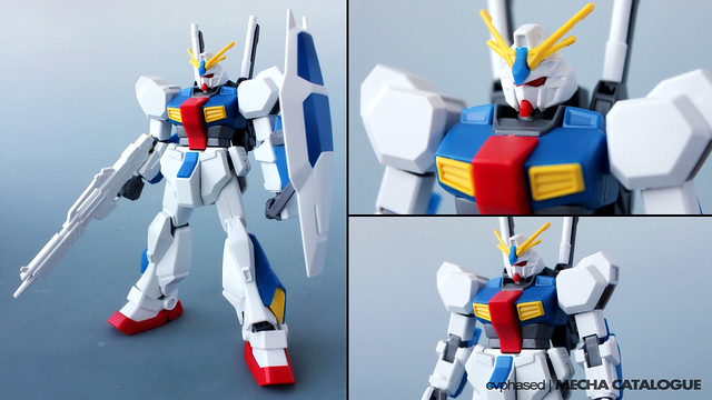 "HGUC Gundam AN-01 ""Tristan"" - Straight Build Preview"