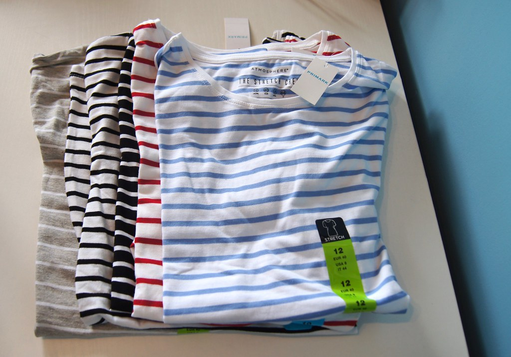Primark Haul - striped shirts