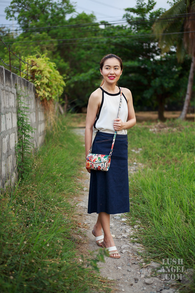 midlength-denim-skirt