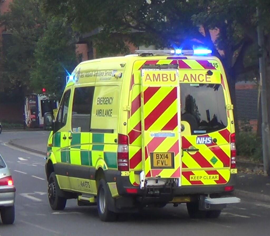 West Midlands Ambulance Service 4x4 Off Road Emergency A