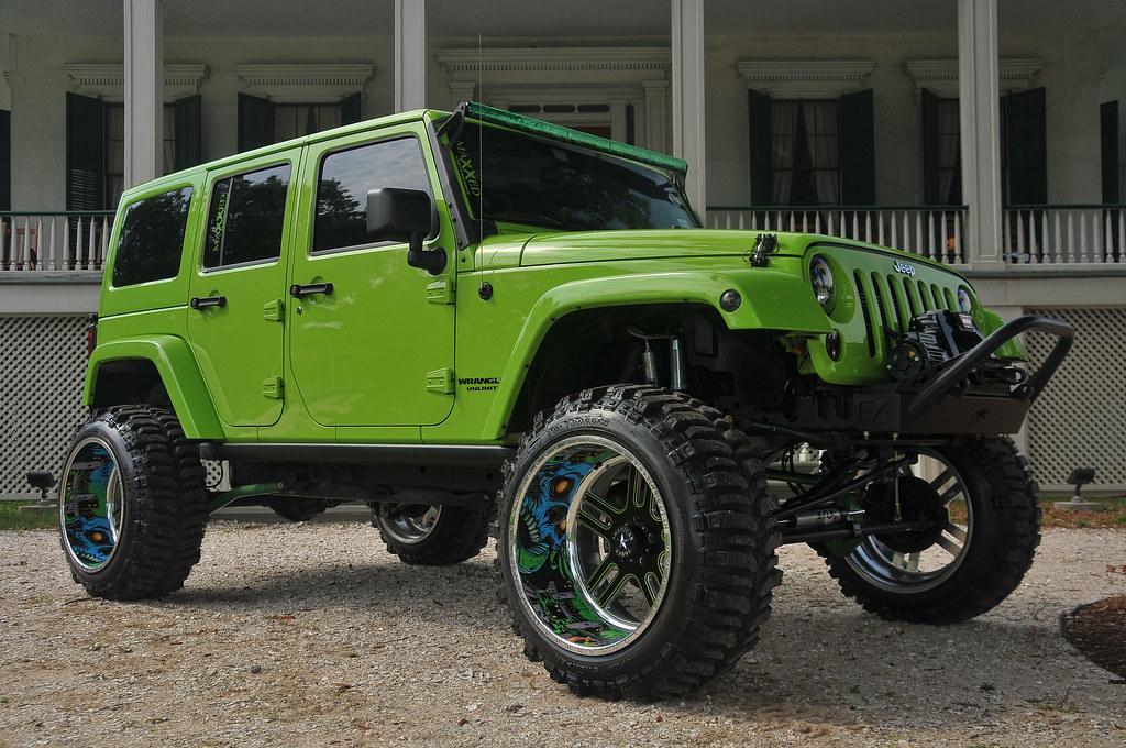 Supersingle 5 Lug Jeep Jk American Force Wheels Flickr