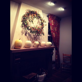 Autumn Mantel | by A Storybook Life