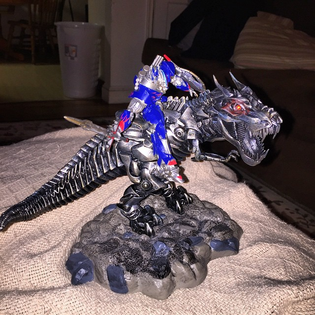 Transformers Age of Extinction Grimlock Statue Age of Extinction Grimlock