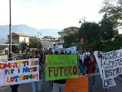 sciopero studenti oliveto citra 01