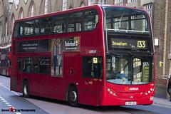 Alexander Dennis Trident Enviro 400 - LJ59 LZG - T87 - Arriva - Liverpool Street London - 140926 - Steven Gray - IMG_0279