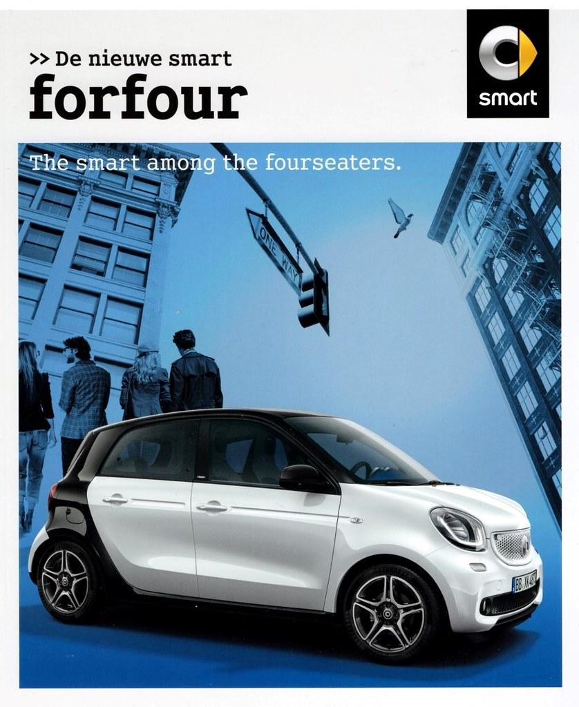 Smart Forfour 2006 3d Model: Smart Forfour 2015 Brochure (Netherlands)
