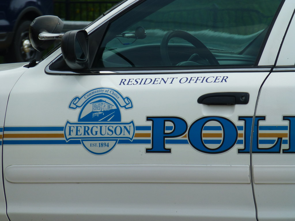 Ferguson, MO Police Car Insignia_P1360311 | Oddly enough, th… | Flickr