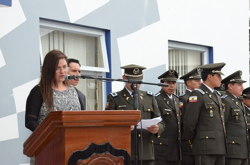 Karina arguello subsecretaria de seguridad interna del mi for Ministerio del interior ecuador