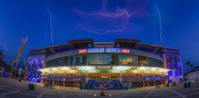 Amalie Arena Home of the Tampa Bay Lightning