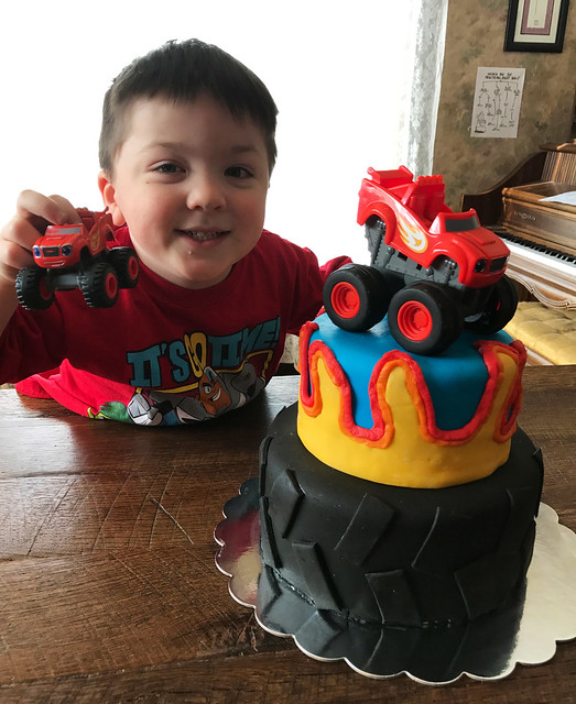 Jack is four!