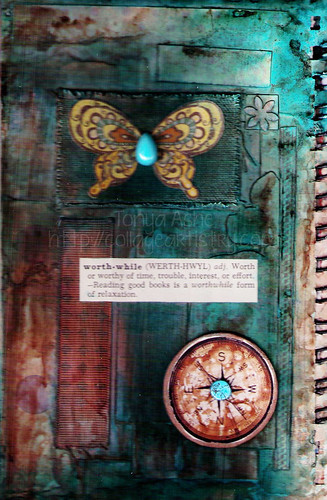 Art Journal Page: Worthwhile