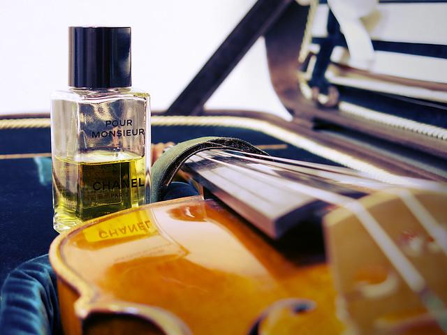 Chanel pour monsieur et mon violon