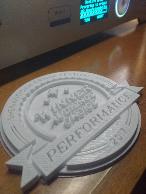 Fringe Performace Badge