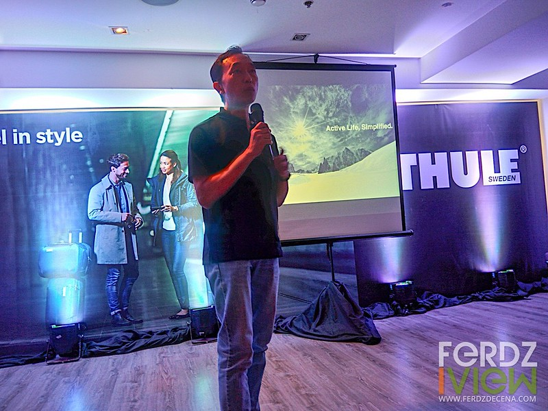 Sonny Ho of Thule HK gives us information on Thule