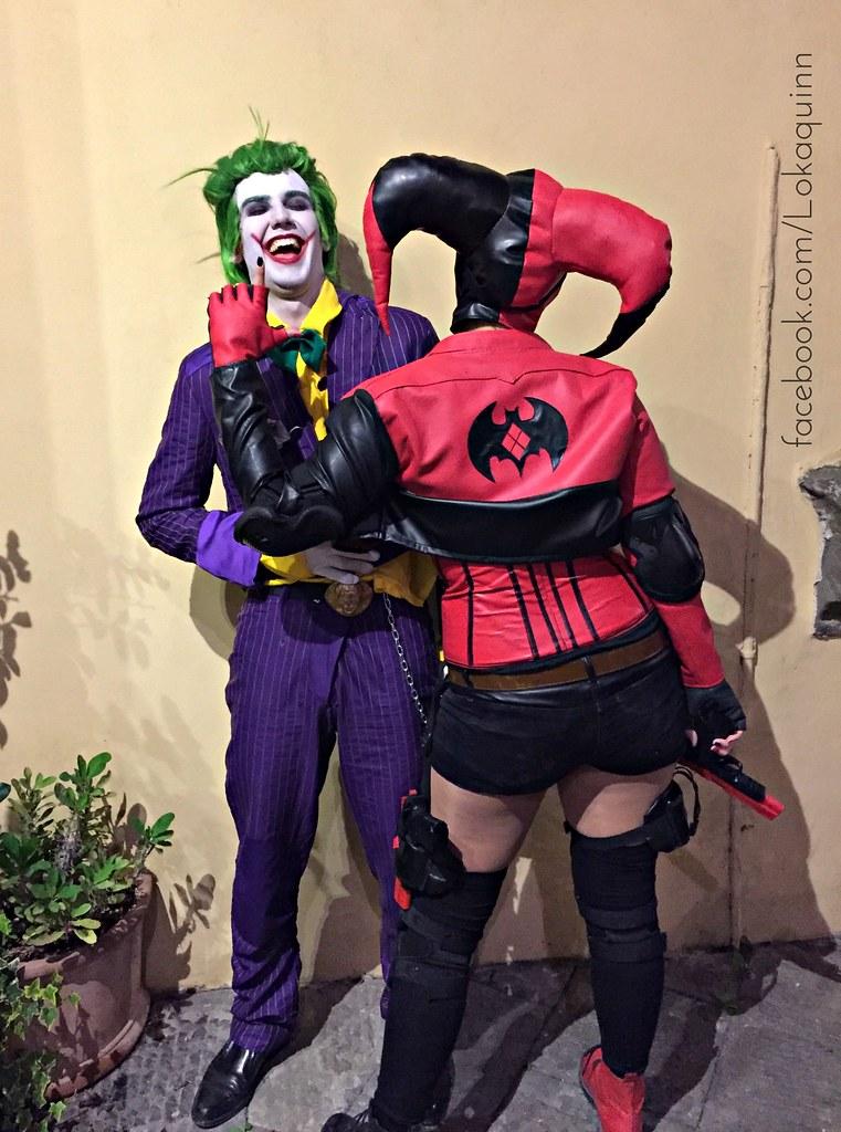 Diabolika Harley Quinn Injustice 2 And Joker Cosplay