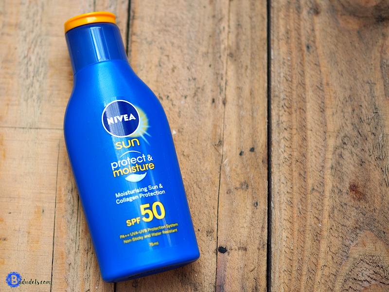 Nivea Sun Protect & Moisture SPF 50