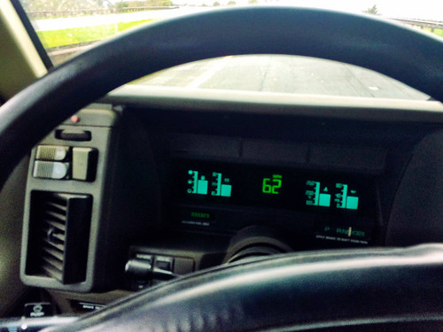 Ladada's Tour Van Dashboard is Tron Inspired (April 2 2016)