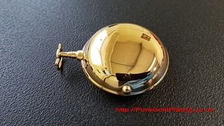 Pocket Watch Case in Gold Plate From The 1700s | by PureGoldPlating