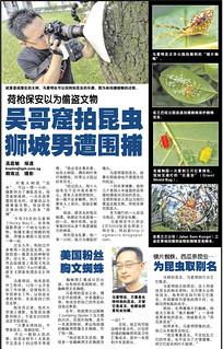 荷枪保安以为盗文物 吴哥窟拍昆虫 狮城男遭围捕 - 联合晚报