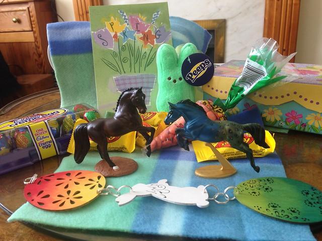 Blab Spring Swap gifts!