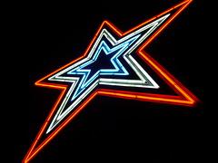 Mill Mountain Neon Star