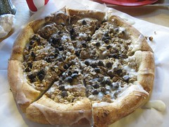 Chocolate Chip and Peanut Butter Pizza @ Dino's | by m kasahara