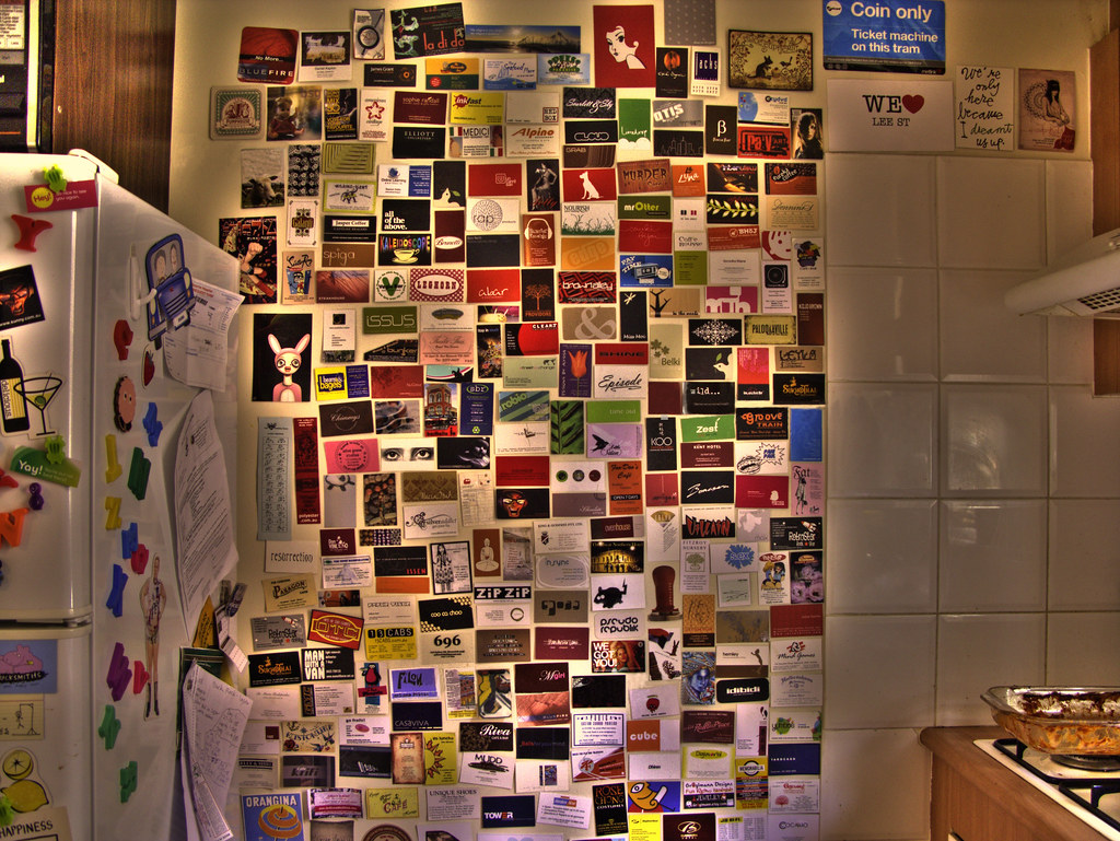 My business card wall view large on black see how it has g flickr sensesmaybenumbed my business card wall by sensesmaybenumbed colourmoves
