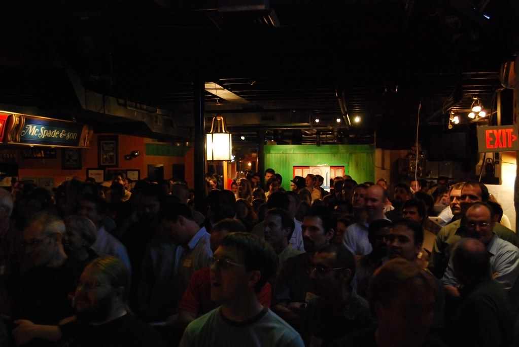 ... A Full Room   Hooley House   Ignite Boston | By Rachel Ford James