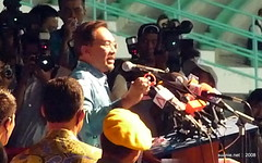 Pakatan Rakyat Sept 15 Rally - Anwar on stage | by suanie