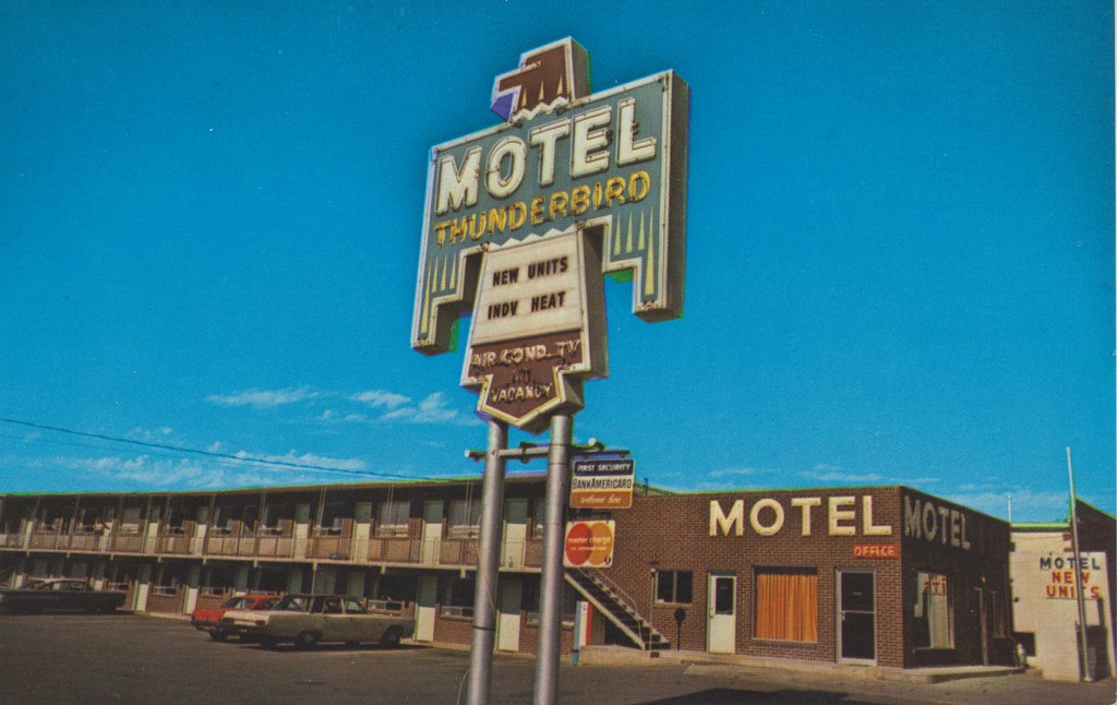 Thunderbird Motel - Rock Springs, Wyoming