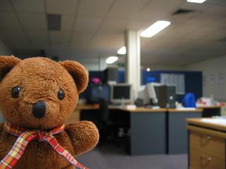 Teddy's office tour | by Ted & Dani