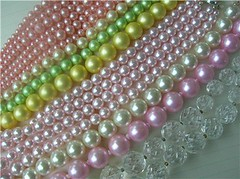 Vintage Pearl Necklaces - Pastel Beads | by speckled-egg