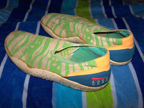 Nike White Swim Shoes