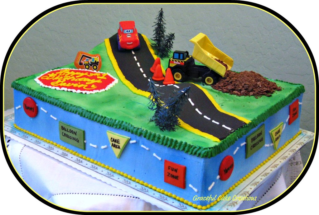 Tonka Truck Birthday Cake Tonka truck birthday cake Flickr